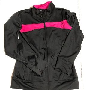 New Balance Girls Large (10/12) Zip Up Sweatshirt